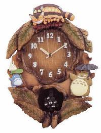 ■となりのトトロ【まっくろくろすけ】振り子時計 4MJ837MN06 [代引不可]【楽ギフ_包装選択】