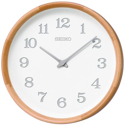 ■SEIKO セイコー 電波掛時計【nu・ku・mo・ri】木枠 ビーチ KX239H [代引不可]【楽ギフ_包装選択】