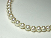 【期間限定】!天然パール(あこや本真珠)ネックレス(7~7.5mm)★現品限り [代引不可]【楽ギフ_包装選択】