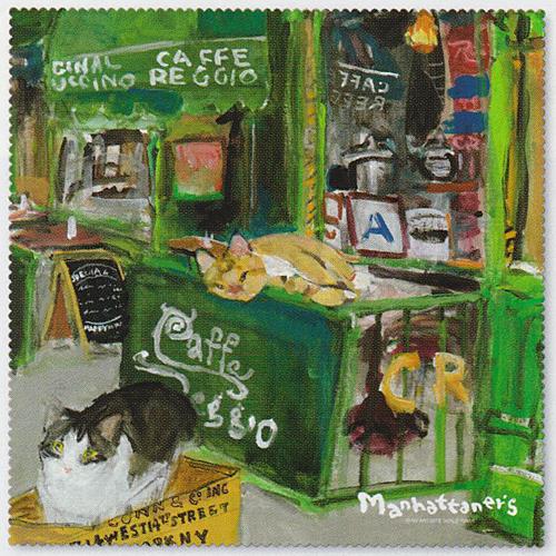 即納 15%OFF 猫好きさんオススメ 大放出セール 新作 Manhattaner's マンハッタナーズ メガネ拭き 楽ギフ_包装選択 18742 パール スーパーセール期間限定 MAN33 クリーナー メガネクロス