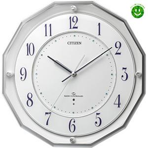 ■シチズン【電波掛け時計】スリーウェイブ 電波掛時計 M8354MY835-003 [代引不可]【楽ギフ_包装選択】.