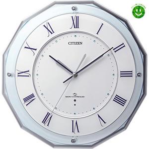 ■シチズン【電波掛け時計】スリーウェイブ 電波掛時計 M8354MY835-004【楽ギフ_包装選択】.