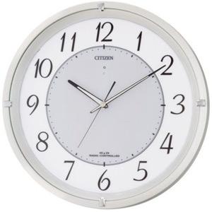 電池不要!◆シチズン ソーラー電波掛け時計【乾電池レスのエコライフ電波時計 M788】4MY788-003 [代引不可]【楽ギフ_包装選択】.