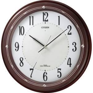 ■シチズン ソーラー電波掛時計【ソーラー+補助電池のサイレントソーラー電波時計】M796【楽ギフ_包装選択】