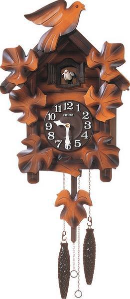 ■RHYTHM リズム時計■木製鳩時計 掛時計【カッコーメイソンR】4MJ234RH06【楽ギフ_包装選択】