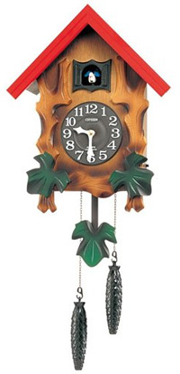 ■RHYTHM リズム時計【カッコーメルビルR】4MJ775RH06【楽ギフ_包装選択】