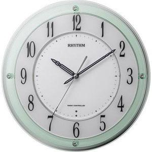 ■リズム時計【ミレディ M791SR】電波時計 掛時計 4MY791SR05 [代引不可]【楽ギフ_包装選択】