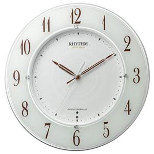 ■リズム時計【スリーウェイブ M847】電波掛時計高感度電波時計 4MY847SR03 [代引不可]【楽ギフ_包装選択】.