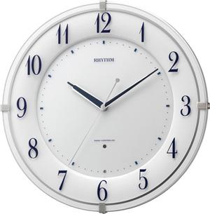 ●RHYTHM[リズム時計]【リバライト RW497】電波掛け時計 8MY497SR03 [代引不可]【楽ギフ_包装選択】.