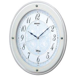 ■SEIKO[セイコー] 【大人ディズニー ディズニープリンセス】 電波掛時計 メロディ付き FS502W  [代引不可]【楽ギフ_包装選択】
