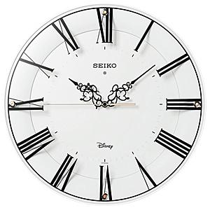 ■SEIKO[セイコー] 【大人ディズニー ミッキー&ミニー】 電波掛時計 FS506W  [代引不可]【楽ギフ_包装選択】