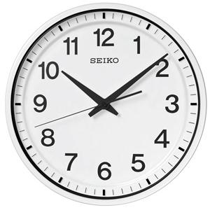 ■SEIKO セイコー 電波掛時計【衛星電波クロック】 GP214W [代引不可]【楽ギフ_包装選択】