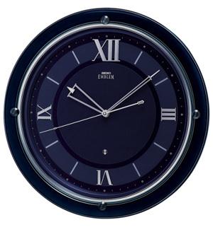 ■SEIKO[セイコー] 衛星電波 掛時計【EMBLEM エムブレム】濃青 HS549L [代引不可]【楽ギフ_包装選択】