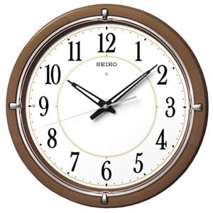 ◆SEIKO セイコー【電波掛時計ファインライトNEO搭載】KX395B【楽ギフ_包装選択】