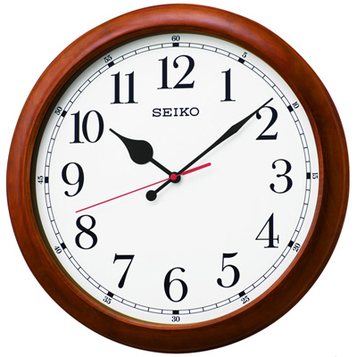 ■SEIKO[セイコー]【電波掛時計】50cm大型クロック 木枠 KX238B [代引不可]【楽ギフ_包装選択】