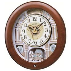 ■SEIKO[セイコー] 【電波からくり時計】 電波掛時計 メロディ付き RE574B [代引不可]【楽ギフ_包装選択】