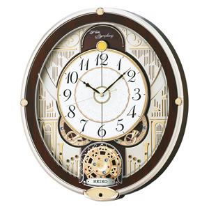 ■セイコ-【電波掛け時計 からくり時計】メロディ付き RE577B [代引不可]【楽ギフ_包装選択】