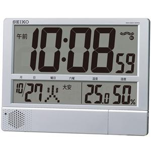 ■SEIKO[セイコー] 【大型液晶 デジタル電波時計】 掛置き兼用 SQ434S【楽ギフ_包装選択】