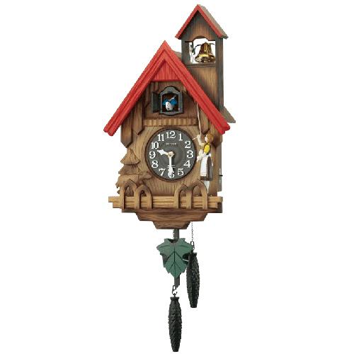 ■RHYTHM リズム時計木製鳩時計【カッコーチロリアンR】4MJ732RH06【楽ギフ_包装選択】