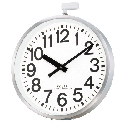 リズム時計■屋外用電波時計【エリア700N】径700mm 防雨型 4MY698-A19 [代引不可]【ギフト不可】.