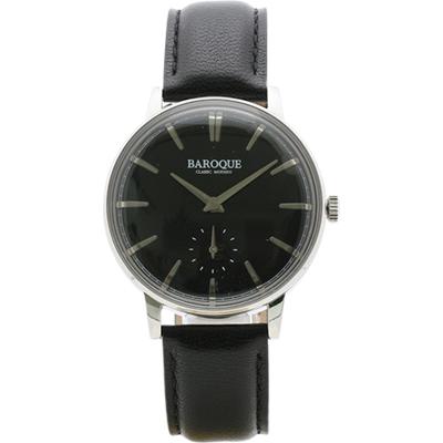 ■BAROQUE[バロック] ウォッチ【VECCHIO ベッキオ】ブラック BA1008S-02B【楽ギフ_包装選択】