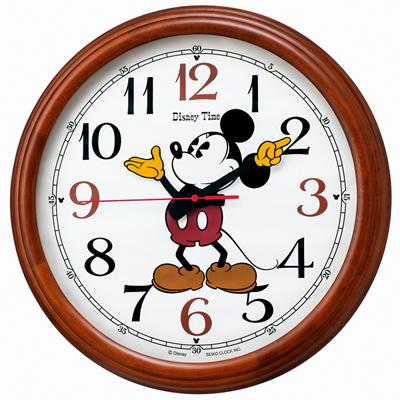 [代引き不可]■SEIKO セイコー【ディズニータイム ミッキーマウス】大型 電波掛時計 50cm FW582B【楽ギフ_包装選択】