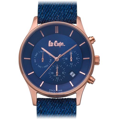 ■Lee Cooper[リークーパー]  メンズウォッチ 腕時計 LC6858.499【楽ギフ_包装選択】タスク