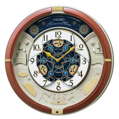 ■SEIKO セイコ-【掛時計 からくり時計30周年記念モデル】メロディ付き RE601B [代引不可]【楽ギフ_包装選択】
