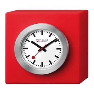 ■モンディーン(MONDAINE) 【卓上 クロック Desk Clock Cube】A660-30318-84SBC  [代引不可]【楽ギフ_包装選択】
