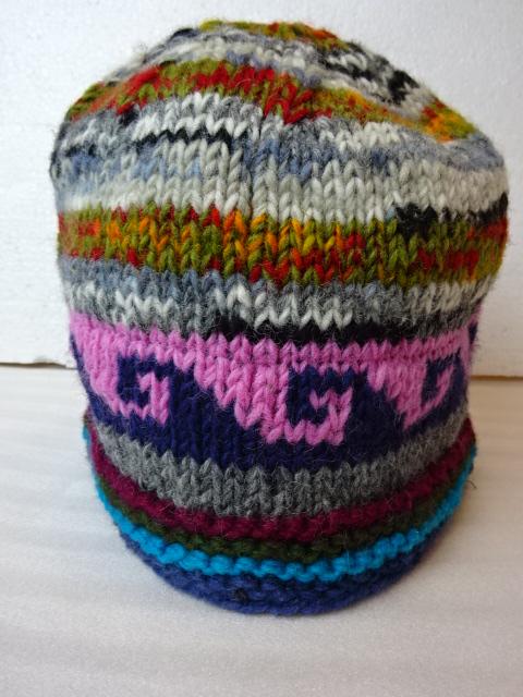 送料無料(一部地域を除く) 実物 暖かい フリースインニット帽C