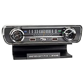 中古 輸入品 未使用 Mustang 1年保証 50th Desktop Thermometer Anniversary Clock 爆安 Sound