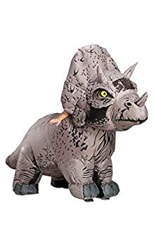 中古 輸入品 未使用 ジュラシックワールド トリケラトプス 恐竜 コスチューム 着ぐるみ メーカー直売 男女共用 新品未使用正規品 大人用 165-175cm