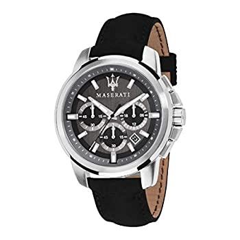 中古 輸入品 未使用 返品送料無料 Maserati マセラティ 公式腕時計 倉 Successo メンズ 男性用 正規輸入品 50m防水 クオーツ石英 R8871621006
