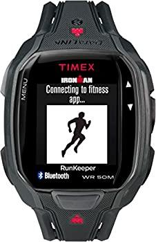 中古 数量限定 輸入品 未使用 Timex Men's Ironman Run Black Quartz Resin Watch 低価格化 TW5K84600 Sport