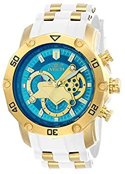 超人気高品質 【】【輸入品・未使用】[インビクタ] 腕時計 Pro Diver 石英 50mm ケース ホワイトゴールド シリコン ステンレスストラップ 青ダイヤル 23423 メンズ 正規輸入品 ベージ, パケ ドゥ ソレイユ 73329107