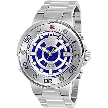 中古 輸入品 未使用 Invicta Men's 26201 Star 気質アップ Silver Watch Multifunction Automatic 豊富な品 Wars Dial