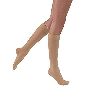 中古 輸入品 未使用 Jobst 日本限定 121467 Ultrasheer Knee Highs 30-40 Natural mmHg Large Size Color- Seasonal Wrap入荷 -