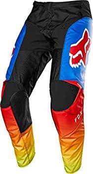中古 輸入品 未使用 卸直営 Fox 激安卸販売新品 Racing 180 レッド ブルー 28 ユースオフロードバイクパンツ - Fyce