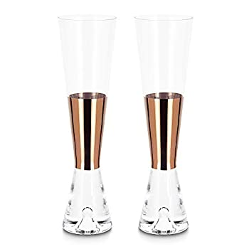 中古 輸入品 未使用 Tom Dixon メンズ タンク クリア 5☆大好評 コッパー シャンパン セット 正規取扱店 グラス ワンサイズ