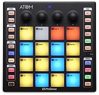 中古 輸入品 未使用 大規模セール PreSonus ATOMプロダクション Artistソフトウェア搭載 Studio 送料無料 パフォーマンスパッドコントローラー One