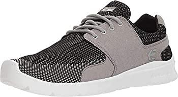 中古 輸入品 未使用 Etnies 希少 Men's 信頼 Scout XT Grey Shoe Medium Black Skate 5 US