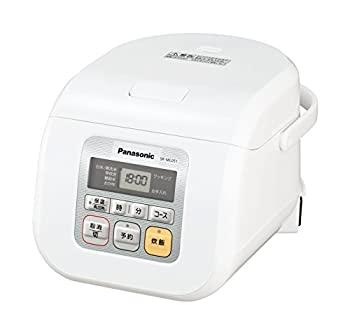 【中古】【輸入品日本向け】パナソニック 3合 炊飯器 マイコン式 ホワイト SR-ML051-W