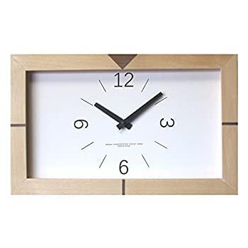 中古 輸入品日本向け フォーカス スリー 置き時計 セール特価 信憑 ナチュラル 横35×縦21.6×奥行3.5cm