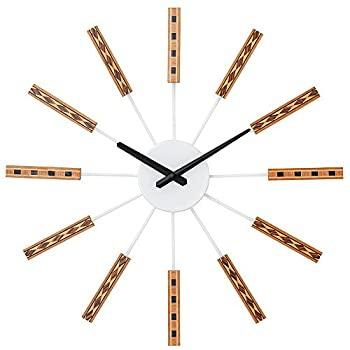 中古 特売 輸入品日本向け 壁掛け時計 CL-2556WH 再入荷/予約販売! ニドルム ホワイト