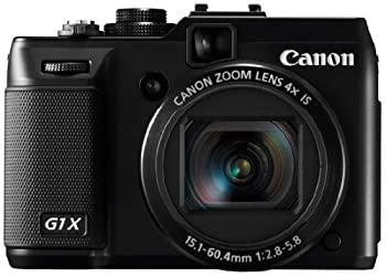 中古 輸入品日本向け Canon 商舗 デジタルカメラ PowerShot G1X PSG1X ☆最安値に挑戦 1.5型高感度CMOSセンサー ブラック 3.0型バリアングル液晶