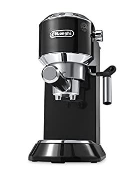 中古 輸入品日本向け DeLonghi America EC680B 新品■送料無料■ Dedica 記念日 Machine Black by 15-Bar Pump Espresso