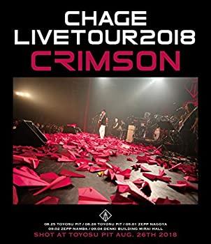 中古 輸入品日本向け Chage Live CRIMSON Blu-ray 2018 全商品オープニング価格 激安☆超特価 Tour