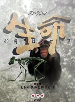 中古 輸入品日本向け NHKスペシャル 第8集:ヒトがサルと別れた日 生命40億年はるかな旅 DVD ハイクオリティ 新作 人気