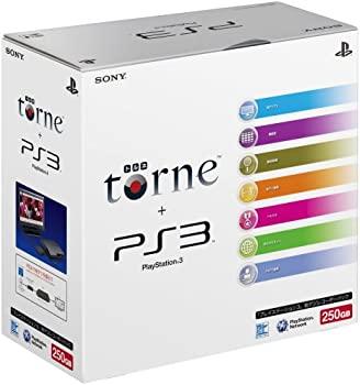 中古 輸入品日本向け PlayStation 3 商店 250GB 地デジレコーダー メーカー生産終了 パック ギフト プレゼント ご褒美 トルネ同梱 torne CEJH-10010