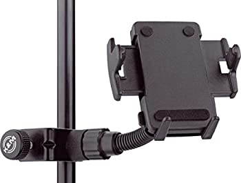 【中古】【輸入品日本向け】K&M スマートフォンホルダー 取付有効幅:44~84mm 黒 19745